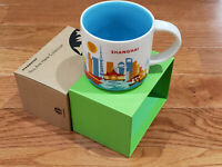14oz Shanghai You Are Here Coffee Mug Collection City Collector Cup YAH