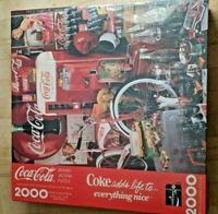 COCA COLA Jigsaw Puzzle 2000 piece - Coke Adds Life to Everything Nice -1991 New