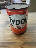 Tydol 1 quart motor oil empty can