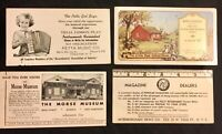 26 Advertising Ink Blotters Tivoli, Germantown, Philmont NY and More 1950's