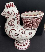 Rare Carl Walters Stonelain AAA NYC Art Rooster Collectible Antique Vint Pottery