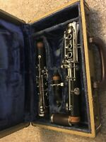 Vintage Evette Buffet Crampon Clarinet With Hard Case Incomplete
