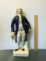 Staffordshire figure of Benjamin Franklin