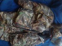 Men's Insulated Jacket Hunting clothing, readhead XX-Large, Tall