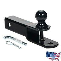 """HiTow 3-In-1 ATV Hitch Ball Mount adapter with 1-7/8"""" Ball, Hollow Shan"""