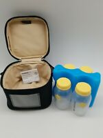 Medela Breast Milk Freezing Storage And Carry Set Brand New in Open Damaged Box