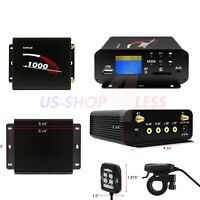 1000W Amplifier Motorcycle ATV UTV Bluetooth Audio System Radio Stereo AUX USB