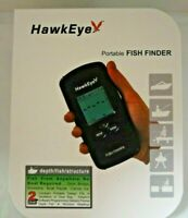 HAWKEYE PORTABLE FISH FINDER F33P With WEED ID NEW IN PACKAGE