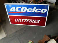Large  AC Delco Batteries GM  36