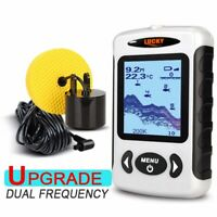Lucky Portable Fish Finder  Wired Fishing Sonar Fishfinder for Ice Fishing
