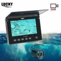 LUCKY Underwater Fishing Camera DVR Underwater Fish Finder Infrared LED