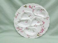 Beautiful Antique Haviland Limoges 5 Well Oyster Plate 7 3/4