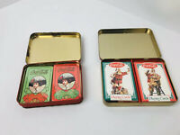 4 Sealed Packs Of Vintage Coca Cola Playing Cards Unopened