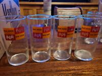 Bacardi Glasses set of 4