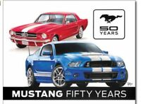 Ford Mustang Metal Ad Sign Picture Oil Gas Garage Shop Man Cave Bar Decor Gift