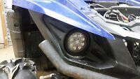 Direct Fit LED Headlights For Yamaha Grizzly 700, Wolverine, And Viking(Pair)