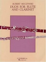 DUOS FOR FLUTE AND CLARINET OP24 (ALSO AVAILABLE FOR 2 FLUTES By Robert NEW