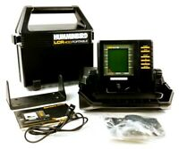 HUMMINGBIRD LCR 400 Portable Depth Finder Fish Locator with Case, Mount