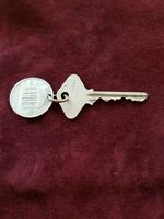 Antique Vintage Historic GREENBRIER hotel key & Fob Original Set #3138 Gazebo