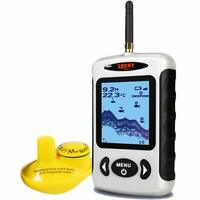 Lucky Wireless Fish Finder Sonar Portable Sonar Fishfinder for Ice Kayak Fishing