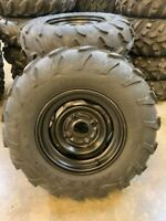 YAMAHA KODIAK GRIZZLY 450 660 700 OEM WHEEL TIRE PACKAGE 25