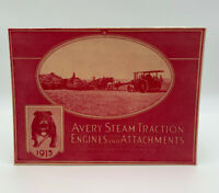 Avery Steam Traction Engines Tractor & Attachments Catalog 1915 19-2685E