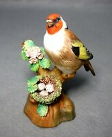 CROWN STAFFORDSHIRE figurine GOLDFINCH - 4-5/8