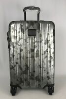 Tumi V3 Expandable International Carry-On Luggage Galvanized Silver 22860