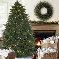 7.5' Artificial Pre-Lit Led christmas tree With White or Multicolor Changing