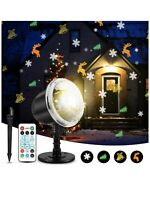 Christmas Halloween Projector Lights Indoor Outdoor Holiday Lights With Remote