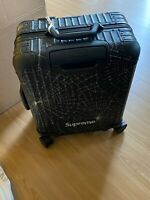 Genuine RIMOWA Supreme Original Cabin Plus Web Black SOLD OUT Brand New RARE