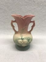 Hull Pottery Wildflower Double Handled Vase Vintage