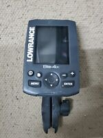 LOWRANCE ELITE 4X FISH FINDER WITH MOUNT