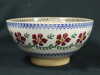 NICHOLAS MOSSE POTTERY OLD ROSE PATTERN BOWL 6