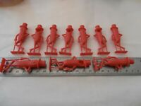 MR PEANUT-10 RED  WHISTLES--NEW--1950'S-TEN COUNT-ORIGINAL OWNER-NEVER DISPLAYED