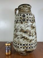 WEST GERMANY  Scheurich Keramik Art Pottery Floor Vase Mid Century 20
