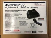Lowrance Structure Scan 3D With Transom Mount Transducer NIB