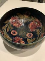 Spanish pattern, William Moorcroft, Burslem bowl, Full signature, 12 inches