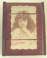 Niagra Starch Pure and Sweet Girl Crate Picture Wall Hanging 15