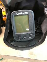 Lowrance X4 Portable Fishfinder with case