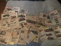VINTAGE MAGAZINE ADS ADVERTISING LOT OF TRACTORS OVER 30 Ads