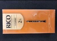 Rico Eb Clarinet Reeds 2.5, 25-pack