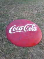 Original 1950 Coca Cola Coke Button 48