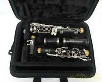 YAMAHA 130485 Model NO.YCL-255 CLARINET With Hard Case Used Japan Free Shipping