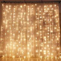 New Twinkle Star 300 LED Window Curtain String Light Wedding Party Home Decor