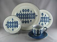 Ceramano Florence CEA8 Place Setting 5pc dinner plate salad bread cup saucer