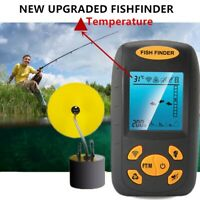 100M Portable Fish Finder Fishfinder Sonar Sensor Depth Echo Transducer Alarm US