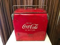 Vintage Coca Cola Cooler by Action Manufacturing W/ Bottle Opener
