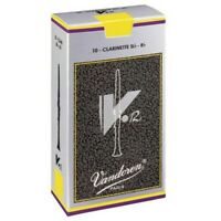 Vandoren V12 Series Bb Clarinet Reeds, Box of 10 (3)