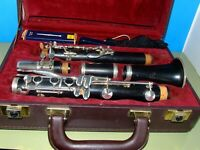 Buffet Crampon & Cie A Paris Clarinet E11 (Made in Germany) Locked-Case with Key